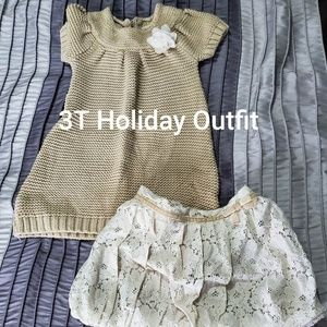 3T Holiday Outfit